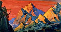 Nicholas Roerich selected paintings slideshows