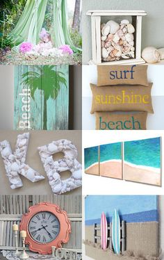 Beach Themed Room --Pinned with TreasuryPin.com