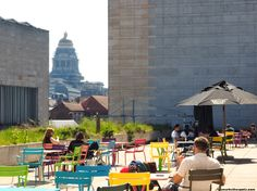 The cafe on the rooftop of the Royal Library of Belgium is open Monday to Friday from 9:00 to 16:00. There's no need to pay an entrance fee ...