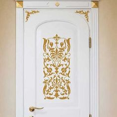 Wall Stencils | Ornate Italian Panel | Royal Design Studio