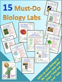 """""""Must-Do"""" Biology and Chemistry Labs"""