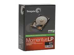 "Seagate Momentus STBD1000100 1TB 5400 RPM 8MB Cache 2.5"" SATA 3.0Gb/s Internal Notebook Hard Drive -Retail - This drive fits the Zalman enclosure for handling hundreds of ISO files."