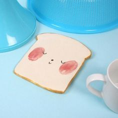 Toast Plate by CharlotteMei on Etsy