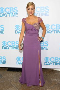 Actress Jessica Collins attends The 40th Annual Daytime Emmy Awards After Party at The Beverly Hilton Hotel on June 16 2013 in Beverly Hills...