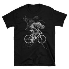 This makes for a great staple t-shirt. And the double stitching on the neckline and sleeves add more durability to what is sure to be a favorite! Bike Life, Tees, Mens Tops, T Shirt, Fashion, Supreme T Shirt, Moda, T Shirts, Tee Shirt