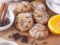 Narancsos, csokis keksz villámgyorsan, egyszerűen: ezzel töltsd meg a karácsonyi dobozt - Recept | Femina Crunches, Cake Cookies, Doughnut, Fudge, Biscuits, Cupcake, Muffin, Food And Drink, Sweets