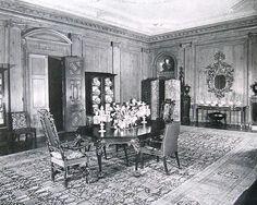 Estate of Nicholas Brady Inisfada, Manhasset, New York. Dining room