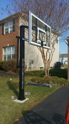 In-ground  Basketball Hoop Installation. Basketball is without doubt one of the most loved game in the United States. If you are a huge fan of basketball, you will someday have to install basketball hoop in your home. However, installing basketball hoop is never an easy task.