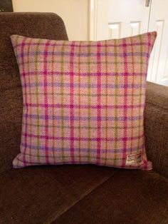 We have a great choice of luxurious genuine Harris Tweed cushions and throws. This tweed is handwoven on the Isle Of Harris. Drop by and have a browse http://www.chic-shack.com/harris-tweed-cushionsthrows-36-c.asp