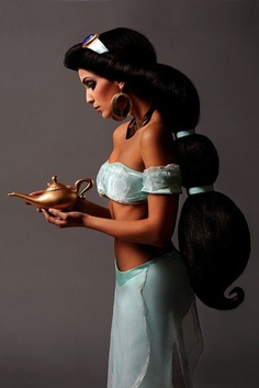 #Cosplay #costume idea: #Princess_Jasmine