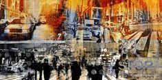 "Saatchi Art Artist Sven Pfrommer; Collage, ""MOVE ON XVI"" #art"