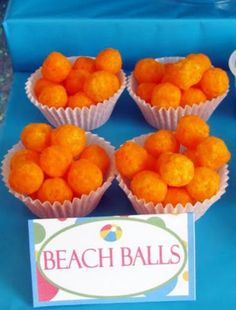 Adorable Snack Idea for any Pool Party!