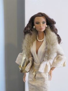 "Natalia in Barbie's ""The Interview"" outfit."