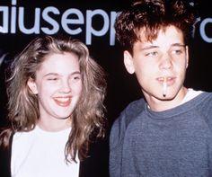 Corey Haim and Drew Barrymore