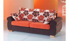 Sofas cama. Sofa tres plazas convertible en cama útil de 135 cm. Sofa cama con sistema de apertura italiana