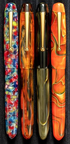 Anderson Pens, Goulet Pens Company, Pen Turning, Writing Instruments, Fountain Pens, Luxury Gifts, Letter, Ink, Feathers