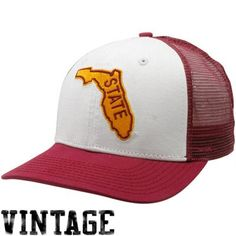 Nike Florida State Seminoles (FSU) Garnet Vault Mesh Snapback Adjustable Hat