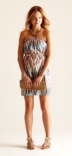 Adorable summer dress. #dress