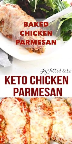 My keto chicken parmesan is fast, grain free, low carb, keto, and kid approved! #SampleKetogenicDiet Healthy Low Carb Recipes, Healthy Dinner Recipes, Keto Recipes, Low Carb Crockpot Recipes, Soup Recipes, Low Carb Food List, Chili Recipes, Pumpkin Recipes, Smoothie Recipes