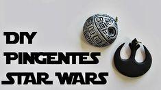 DIY: Como Fazer Pingentes inspirados em STAR WARS