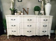 white french dresser