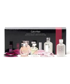 Look at this Calvin Klein Five-Piece Fragrance Set - Women on #zulily today!