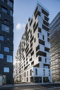 """Edifício MAD / MAD arkitekter (Conceito """"Código de barras"""")"""