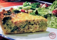 Quiche is always my go-to for a quick dinner or for a nice breakfast/brunch, it's so easy to throw together, and the combinations are endless. This quiche