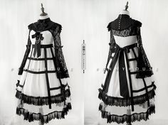 Penny House -Rose and Cross- Gothic Lolita Jumper Dress
