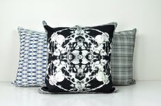 Grand Roco Medallion Throw Pillow | HeartHabits Deliciously Beautiful Things to Wear and Home Decor.