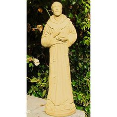 St Francis Garden Statue ** This is an Amazon Associate's Pin. Detailed information can be found on Amazon website by clicking  the VISIT button.