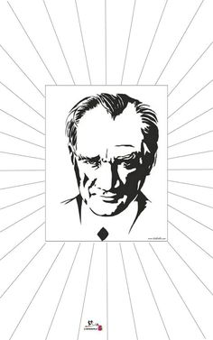 Atatürk-Çerceve-kalıp , 10 kasım etkinlikleri ,Atatürk ,kırtkırtla Geniale Tattoos, Printable Crafts, Preschool Activities, Interior Design Living Room, Diy Bedroom Decor, Design Trends, Art For Kids, Mandala, Superhero