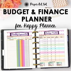 Happy Planner Budget Pages, Finance and Budget Planner, Instant Download Track your monthly budget and finances with this classic sized happy planner budget extension pack! This budget planner printable includes 7 pages that you can print out multiple times to create a personal and