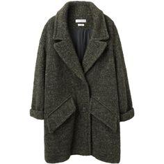 Étoile Isabel Marant Diego Oversized Jacket found on Polyvore