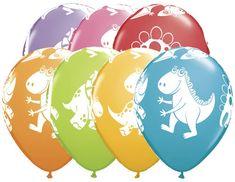 Dinosaur Balloons Kids Party Balloons Dinosaur by PartySurprise