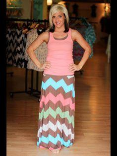 """The """"Mazy"""" Maxi Skirt"""