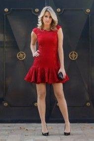 look da noite, vestido de festa curto, justo, vermelho, renda, babado, skazi, ecommerce analoren, marina casemiro (2)