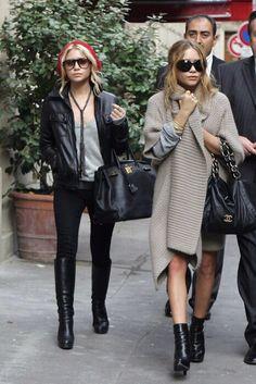 Olsen twins fashion