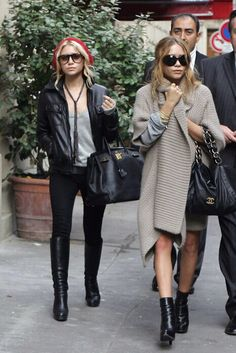 Olsen twins fashion