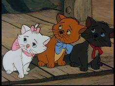 The Aristocats: Yeah, I'm a Cool Cat, Baby, Wanna See Me Meow? The Aristocats Walt Disney Productions labored over its films. Disney Cats, Old Disney, Disney Cartoons, Disney And More, Disney Love, Disney Magic, Disney And Dreamworks, Disney Pixar, Disney Characters
