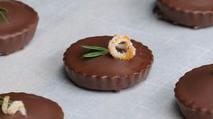 Chocolate-Covered Mini Olive Oil Cakes
