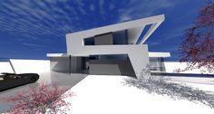 modernes Designhaus in Dingolfing