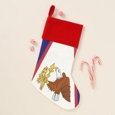 Christmas Stockings Flag of American Samoa USA #stocking #christmas #sock #xmas