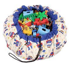 Play and Go Lego Toy Storage Bag in Superhero print  #lego #lb #legoland #legominifigures #ltoys #onlinetoys #sylvanian #christmasshop #legostagram #toyshop