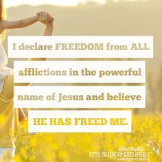 Declare this right now!