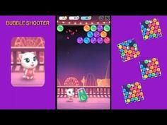 BUBBLE SHOOTER KIDS GAME | ANGELA BUBBLE SHOOTER