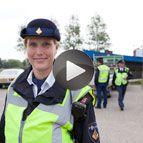 Politievrijwilliger Anna