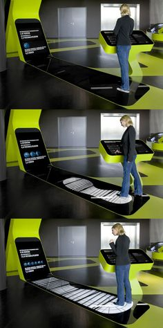 Autostadt 主题乐园 Level Green 展厅,媒体空间与互动装置设计 / ART+COM