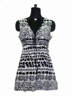 casual wear printed western kurti Bollywood designer dress stylish top