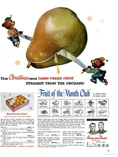 Harry & David Fruit of the Month Club (1964)